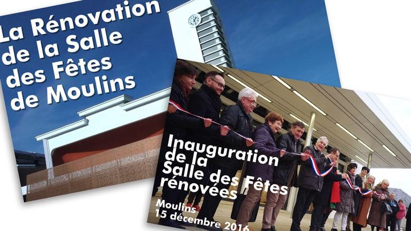 Rénovation de la Salle des Fêtes de Moulins