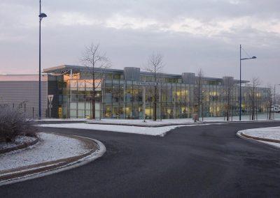 CONSTRUCTION DE LOCAUX DE BUREAUX ET D'ATELIERS POUR LA NOUVELLE UNITE M.D.D.