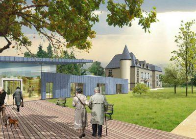 """Reconstruction de l'EHPAD """"Château Morlon""""  – Cercy la Tour (58)"""