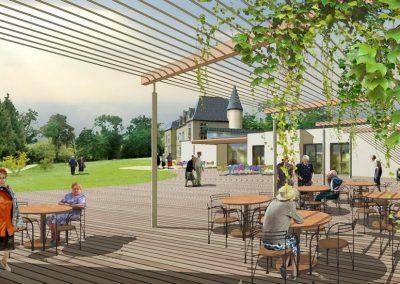 "RECONSTRUCTION DE L'EHPAD ""CHATEAU MORLON"""