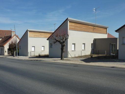 Construction de 12 pavillons – Châtel de Neuvre (03)