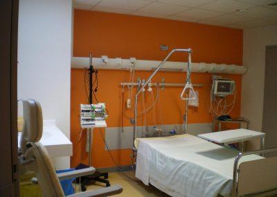 RESTRUCTURATION DES SOINS INTENSIFS AU CENTRE HOSPITALIER