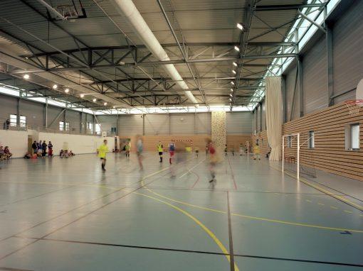 Construction du complexe sportif – Lignières (18)