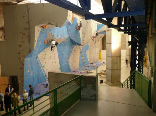 Transformation d'une friche industrielle en équipement sportif  – Montluçon (03)