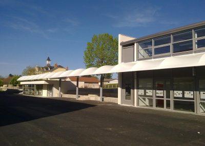 Restructuration du collège Charlotte Delbo – Tronget (03)