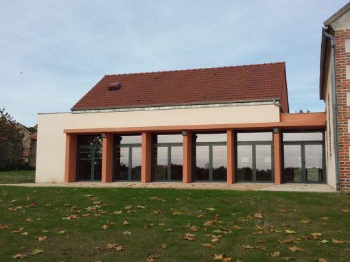 Réhabilitation de la salle polyvalente à Givarlais (03)