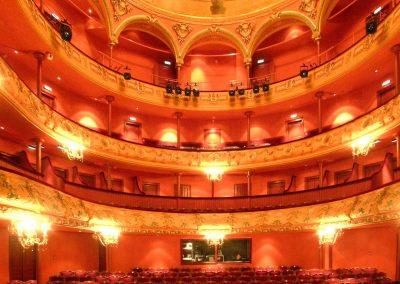 Réhabilitation du théâtre à l'italienne du Puy En Velay (43)